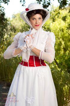 Custom Mary Poppins Adult Costume por BbeautyDesigns en Etsy