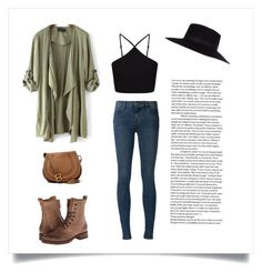 Hard decisions by updatesfashion on Polyvore featuring polyvore fashion style Miss Selfridge J Brand Frye Chloé River Island