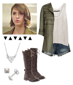 """Malia Tate Inspired - teen wolf"" by shadyannon ❤ liked on Polyvore featuring мода, rag & bone/JEAN, Enza Costa, Joie, La Preciosa, Nashelle и Lucky Brand"
