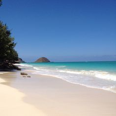 Bellows Beach, Oahu, Hawaii...sigh, as I write this...I was here yesterday...Seems like ages ago. Absolutely gorgeous beach--open weekends.
