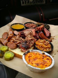 From ribs to brisket and everywhere in between - and don't forget the sides! - these restaurants serve some of the Dairy State's best BBQ. Bbq Shop, Outdoor Kitchen Bars, Smoked Brisket, Best Bbq, Summer Barbecue, Places To Eat, Eating Places, Ribs, Bbq Restaurants