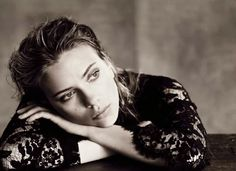 Scarlett Johansson for Vogue Italia October 2013 Photographed by Paolo Roversi