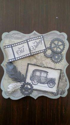 Noor! Design stempels Vintage Cars