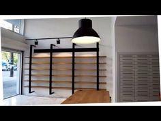 Ανακαίνιση Θεσσαλονίκη. Δημιουργία χώρων με άποψη, υψηλή αισθητική και σε προσιτό κόστος !!! Ανακαινίσεις επαγγελματικών χώρων & σπιτιών. Pharmacy Design, Thessaloniki, Shelving, Divider, Interior Design, Room, Furniture, Home Decor, Shelves