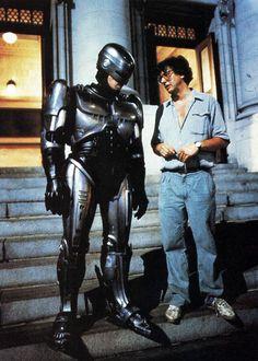 Robocop 1987 Peter Weller and Paul Verhoeven
