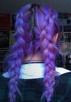 Trendy hair color bright violets Ideas - All For Hair Cutes Dye My Hair, Bright Hair Colors, Bright Purple Hair, Unnatural Hair Color, Strawberry Blonde Hair, Coloured Hair, Rainbow Hair, Crazy Hair, Her Hair