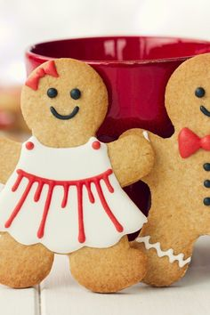 Eileen's Spicy Gingerbread Men Recipe