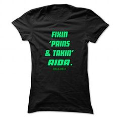 Fixin ... AIDA - Cool Name Shirt ! - #country hoodie #victoria secret hoodie. PRICE CUT => https://www.sunfrog.com/LifeStyle/Fixin-AIDA--Cool-Name-Shirt-.html?68278