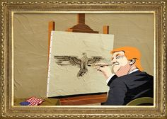 Trump X Magritte: The Surrealist Series on Behance