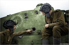 Destroyed German tiger tank ww2