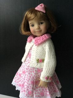 """Outfit for Dianna Effner Doll Little Darling 13"""" 3pc. #Yuree"""