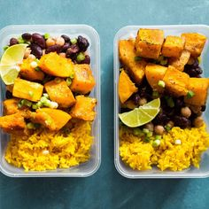 Everyone has been asking for a VEGAN meal prep - so HERE IT IS! Veggie Meal Prep, Lunch Meal Prep, Lunch Recipes, Vegan Recipes, Dinner Recipes, Vegan Meals, Yummy Recipes, Yummy Food, How To Cook Meatballs