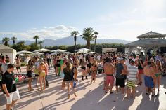 The Lacoste L!VE Desert Pool Party in celebration of the Music Festival in Palm Springs. April 13-15 2012.