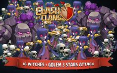 clash of clans witch wallpaper hd