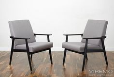 #50s #60s #70s #Midcentury #Vintage #Retro #Cocktail_Chair Typical 1960s chairs with ebonised frames. www.viremo.co.uk