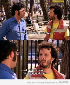 Flight of the Concords! Love Bret and Jemaine