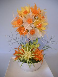 Veggie floral arrangement.