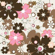 Flower vector pattern 02