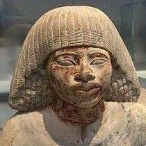 Kemetyu when their faces haven't been smashed by jealous, diabolical Eurasians. Why are pseudo eurocentrist and racist egyptologist obsessed with making reconstructions? The simple answer is the e Modern History, Black History, Modern Artists, Egyptian Art, Travel And Tourism, African History, Stone Art, Ancient Egypt, Archaeology