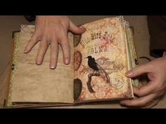 Vintage Birds journal (Sold) - YouTube