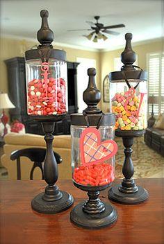 I'm still loving the DIY apothecary jars all over blogland.