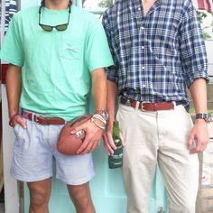 Preppy Dudes wearing Tucker Blair in Mantucket