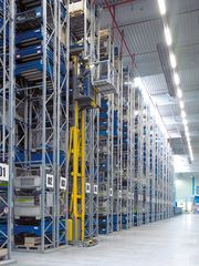 Heavy load rack PR 600 as front-to-back racking