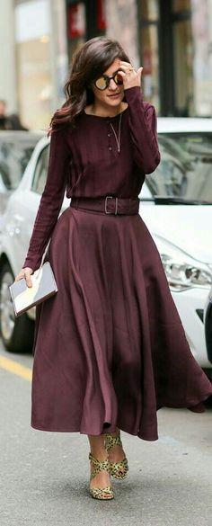 """for gorgeous """"what to wear"""" outfits that travel anywhere, gorgeo. Fashion Mode, Work Fashion, Modest Fashion, Fashion Outfits, Womens Fashion, Classy Fashion, Fashion Photo, Winter Mode, Mode Style"""