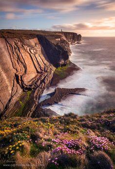 Loop Head Peninsula in West Clare, Ireland