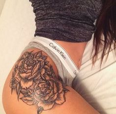 trying to find the PERFECT hip/thigh tattoo