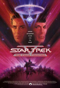 Star Trek V: The Final Frontier: William Shatner, Leonard Nimoy, DeForest Kelley, James Doohan Nave Enterprise, Star Trek Enterprise, Star Trek Voyager, Enterprise Ship, Star Trek Movies, Sci Fi Movies, Good Movies, Movie Tv, Watch Movies