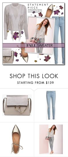 """Cozy Fall Sweaters"" by court8434 ❤ liked on Polyvore featuring Once Upon a Time, Frame, Sigerson Morrison, Torn by Ronny Kobo and fallsweater"