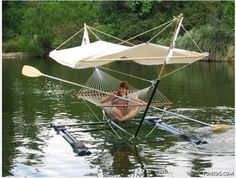 Floating Hammock boat