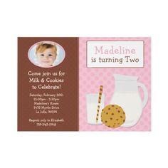 Milk & Cookie Invite