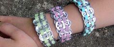 Soda pop tab bracelets!