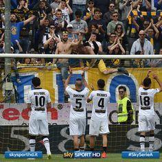 Dopo 6 stagioni nella massima divisione, il #Parma retrocede in Serie B