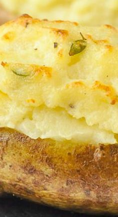 Twice Baked Potatoes with Smoked Cheddar & Thyme