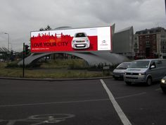 #DOOH campaign for @CitroenUK on @Outdoor_plus  dominating at #LDN #Vauxhall