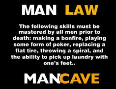 Man Law from ManCaveTeam