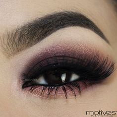 """Flawless look by @Sue Goldberg Fritz Torres using Motives Beauty Weapon Palette """"Smokey"""" tutorial!"""