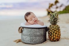 6 day old Newborn baby boy beach photo session on a surf board in Hawaii. The weather was absolutely AMAZING for this sweet guys session! Summer Baby Photos, New Baby Photos, Family Photos, Toddler Portraits, Beach Portraits, Newborn Shoot, Baby Boy Newborn, Newborn Beach Photography, Beautiful Beach Sunset