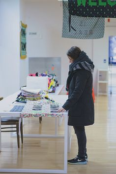 Aram Han Sifuentes creates a space for dissent at the Chicago Cultural Center. Chicago Cultural Center, Social Practice, Lending Library, Banner, Space, Decor, Banner Stands, Floor Space, Decoration