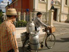 Resana, Italy Polenta Fest historic parade participant