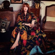 edenliaothewomb Florence Welch photographed by David Burton for ELLE Italia Oct 2017 I have never gasped as loudly as I did just now Estilo Florence Welch, Florence Welch Style, Florence Welch Hair, Boho Chic, Bohemian Style, Boho Hippie, David Burton, Florence The Machines, This Is Your Life
