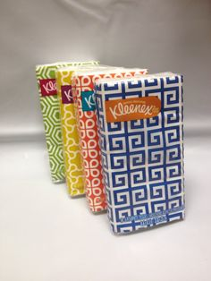 Kleenex® 3-Ply Pocket Packs Facial Tissues (4 packs of 10 tissues)