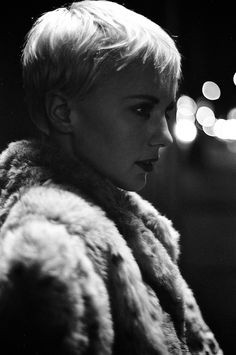 Considering this as my next cut. This is why I love having a pixie. I can try a variety of pixie cuts and it grows out quickly if I don't like it