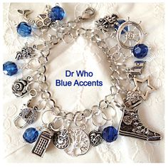 A personal favorite from my Etsy shop https://www.etsy.com/listing/174950214/dr-who-fandom-inspired-charm-bracelet