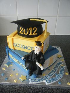 Cake Decorating Course Wolverhampton : CU Graduation Cake College graduation