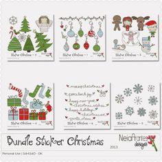 Stickers Christmas