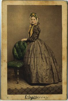 Hand-tinted daguerreotype of a woman wearing a spoon bonnet, ca. 1850-1865.